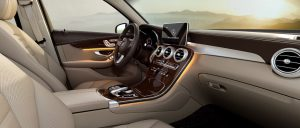 interior luxury brown leather