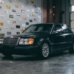 Mercedes Benz 300E W124 con motore BMW: venduta all'asta!