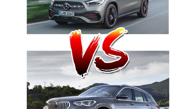 Mercedes GLA vs BMW X1